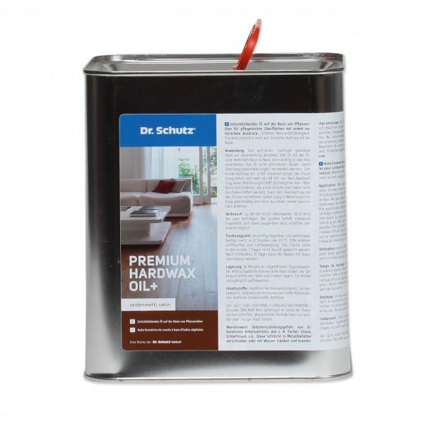 Premium HardWax Oil+ seidenmatt